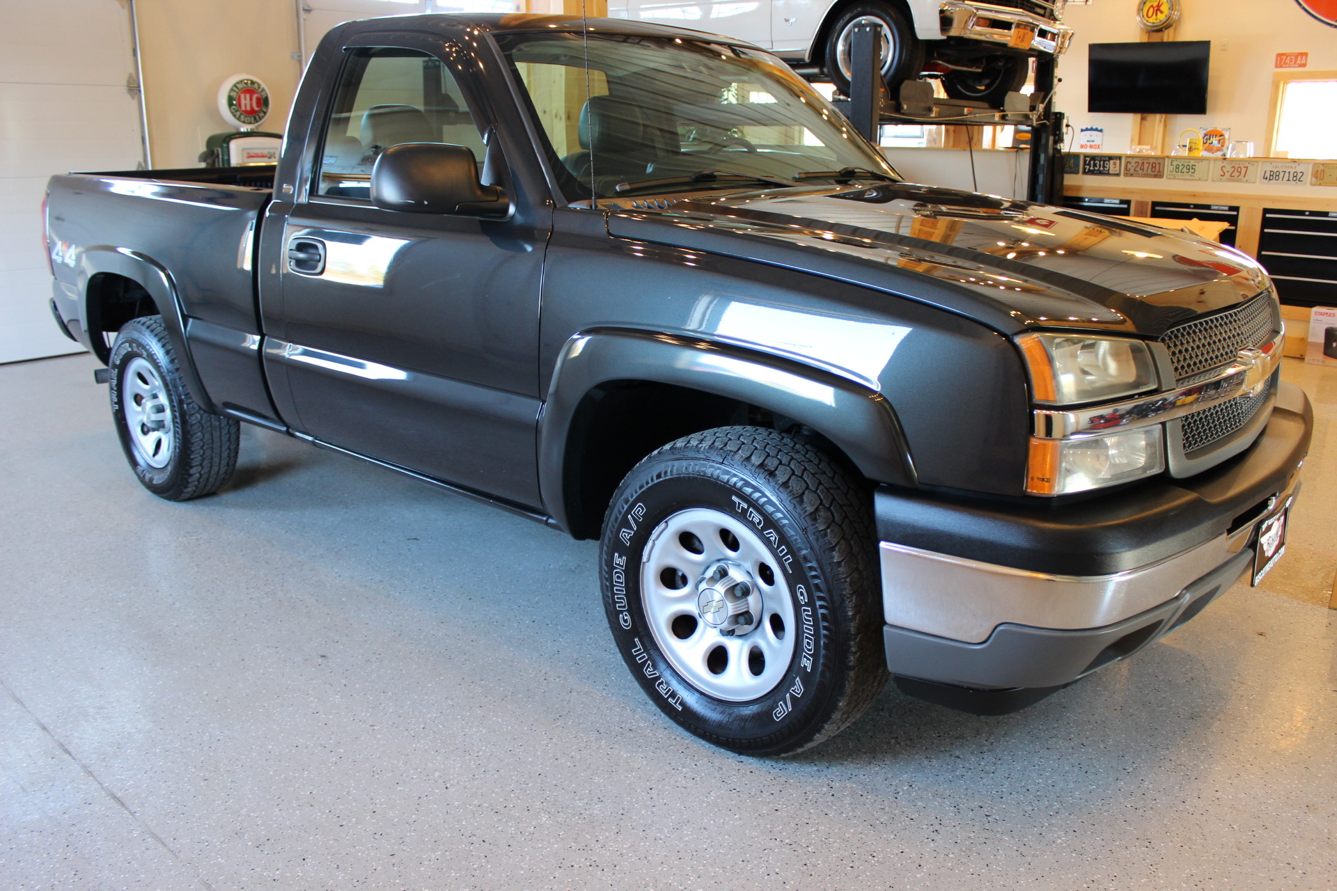 2005 chevrolet silverado 1500 work truck biscayne auto sales pre owned dealership ontario ny. Black Bedroom Furniture Sets. Home Design Ideas